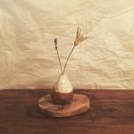 陶器を展示