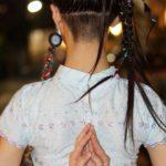 ヘアアレンジ インド舞踊 ヘアメイク 吉祥寺 美容室 踊りと髪