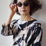 吉祥寺美容室撮影風景3 くせ毛 ヘアセット サングラス ミセス